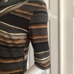 Delirious Dresses - Delirious Stripe Sweater Dress XL NEW